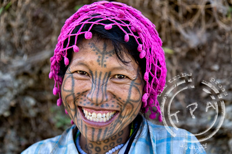 The ever happy Naing Tee, Kyar Do village, Chin State TheTPA.net